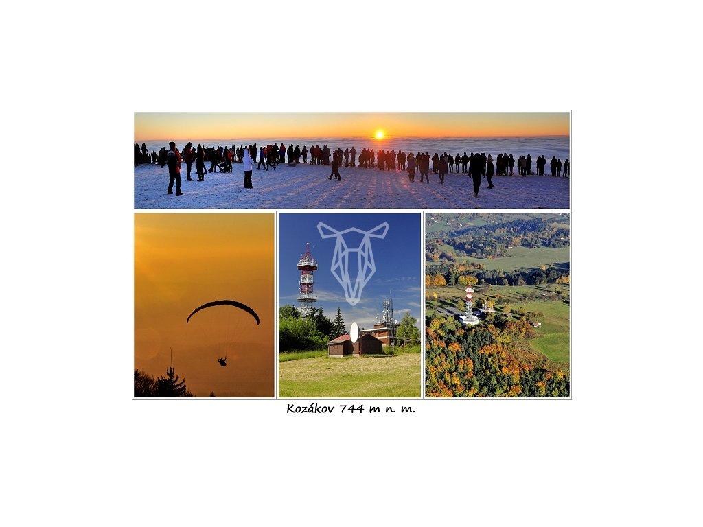 13823 3 pohlednice kozakov 2