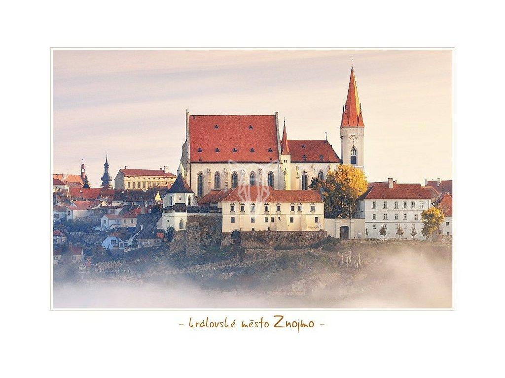 1301 pohlednice kralovske mesto znojmo