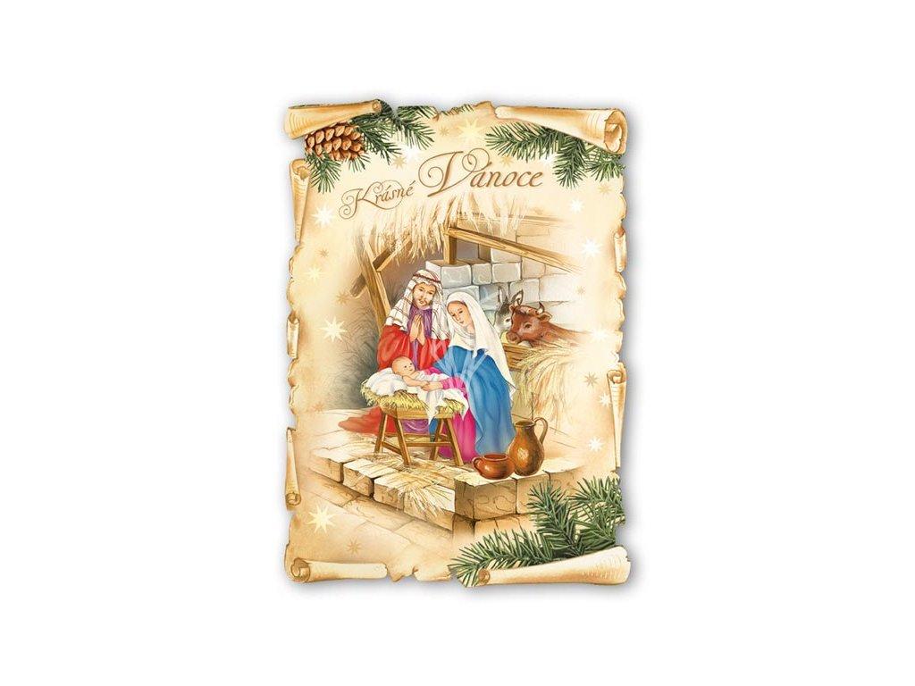 17051 pohlednice krasne vanoce