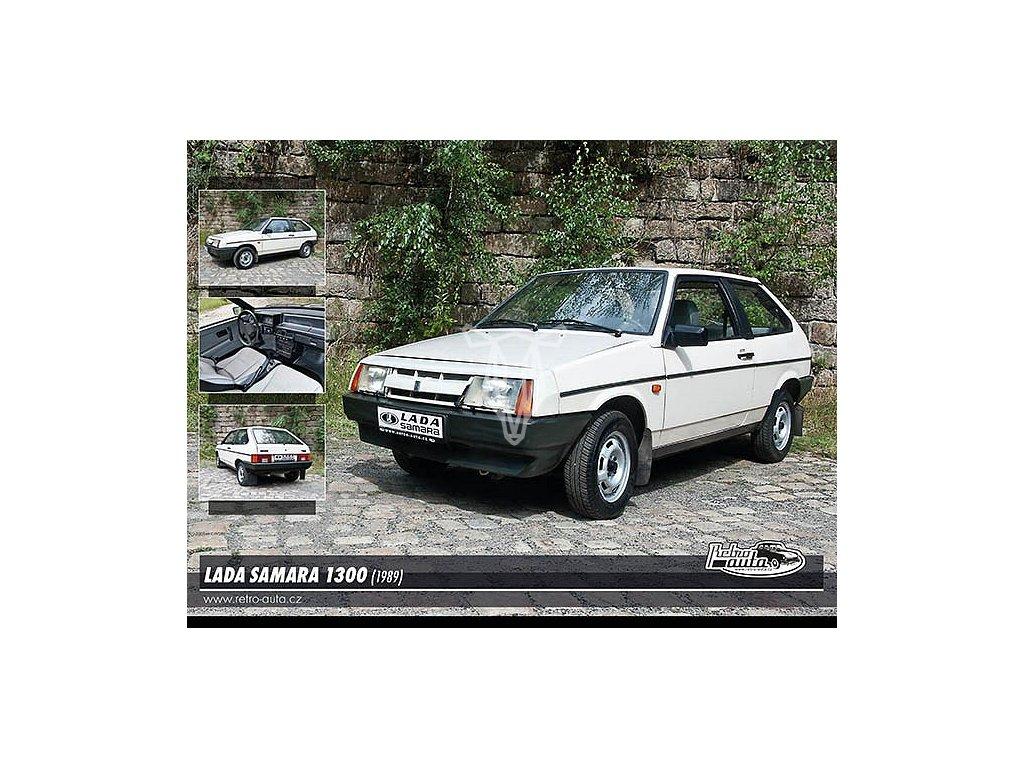 1208 2 pohlednice lada samara 1300 1989