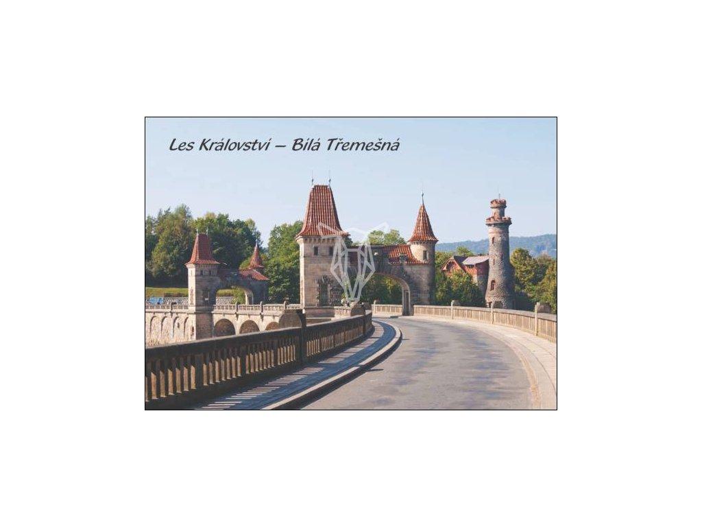 14138 3 pohlednice les kralovstvi bila tremesna