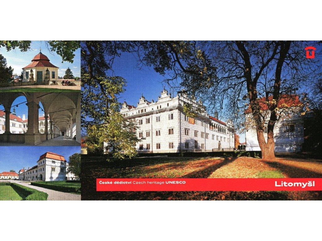 1451 2 pohlednice litomysl