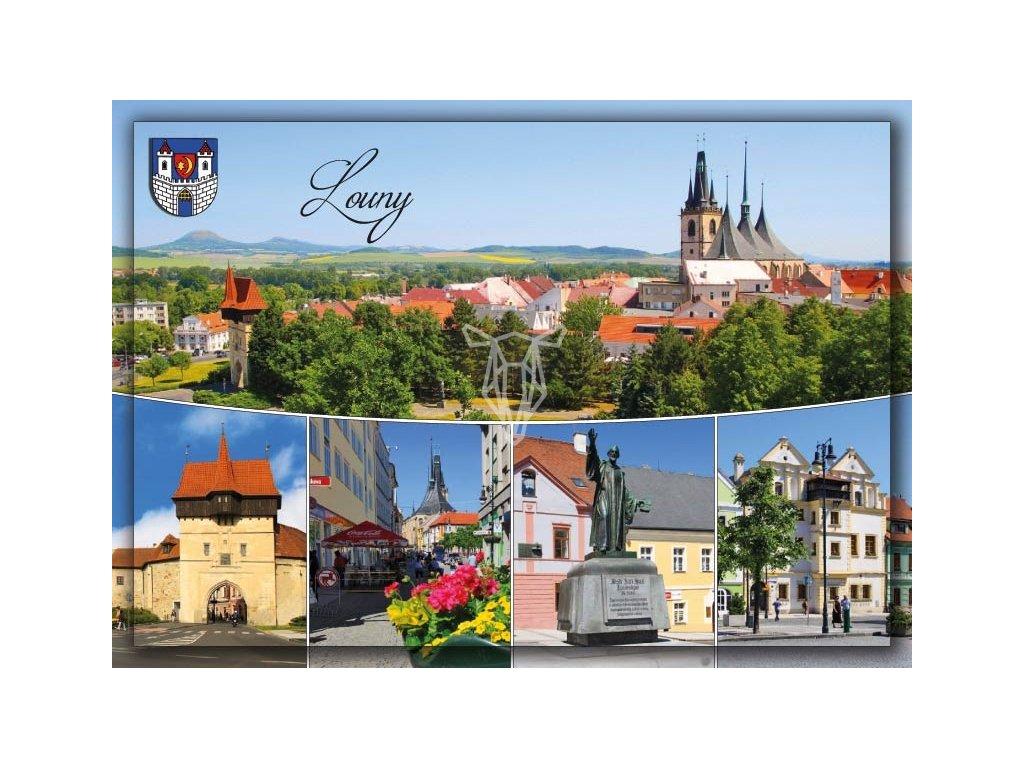 16205 1 pohlednice louny