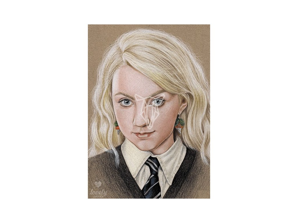 18359 1 pohlednice luna lovegood