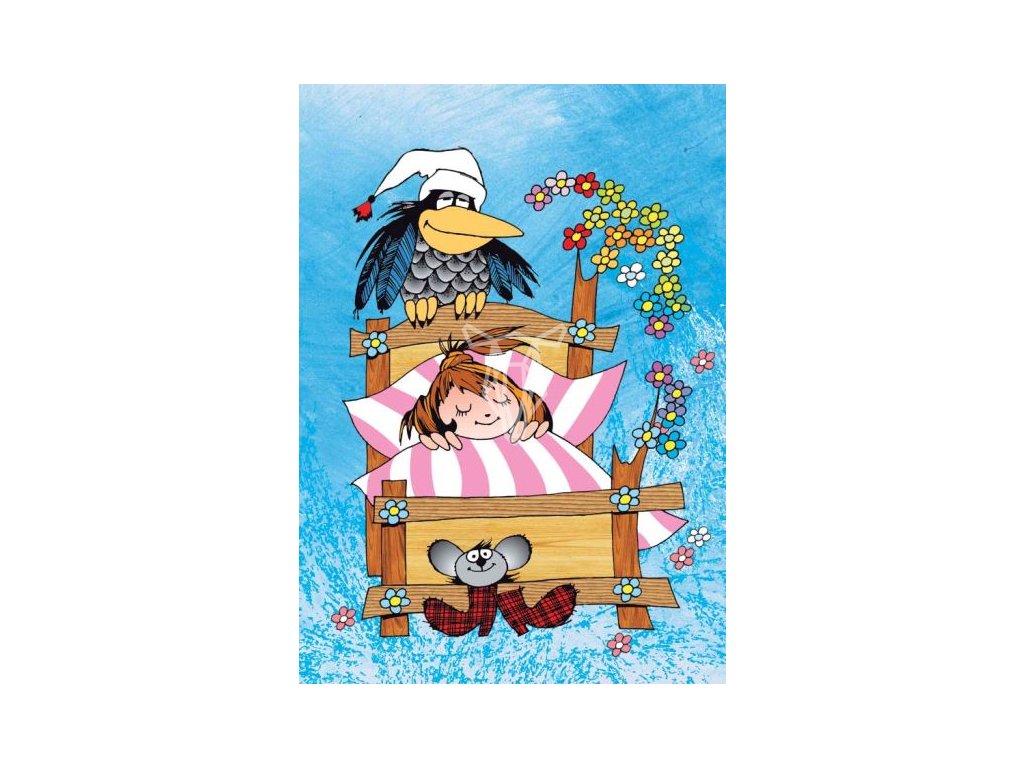 12626 3 pohlednice mala carodejnice spinka