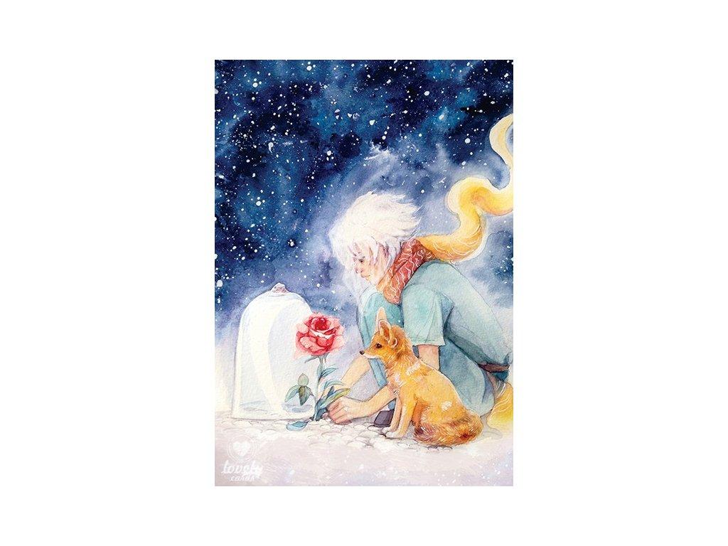 18356 1 pohlednice maly princ