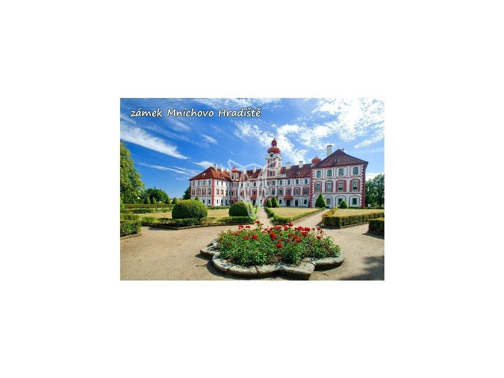 13868 3 pohlednice mnichovo hradiste