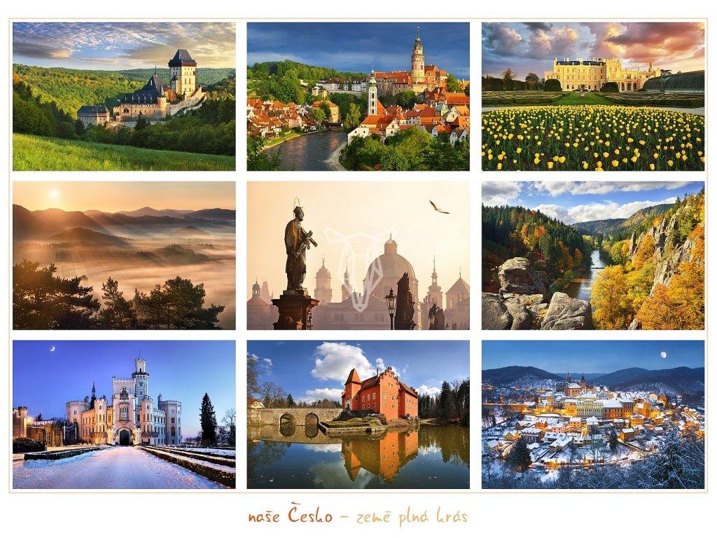 1199 pohlednice nase cesko zeme plna kras