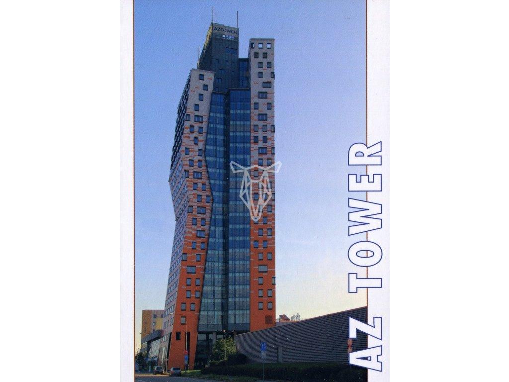 4793 2 pohlednice nejvyssi ceska budova az tower