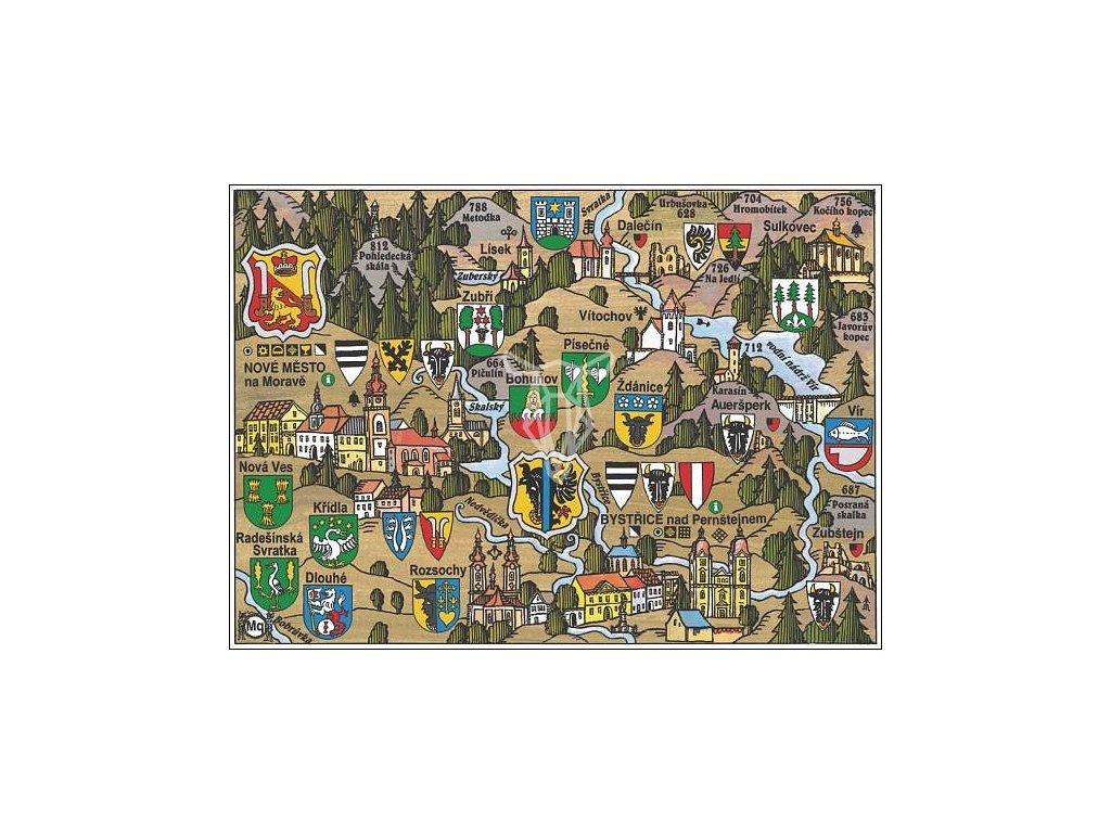10532 1 pohlednice nove mesto na morave