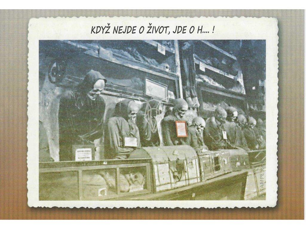 14384 2 pohlednice o zivot