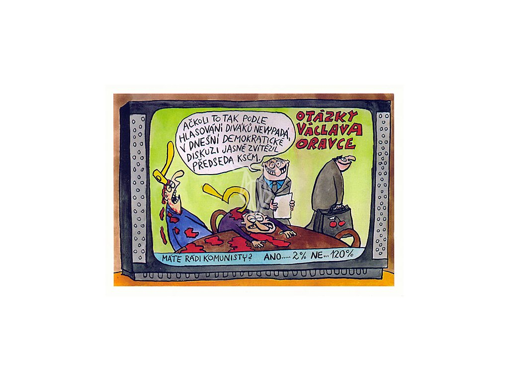 15470 3 pohlednice otazky vaclava oravce
