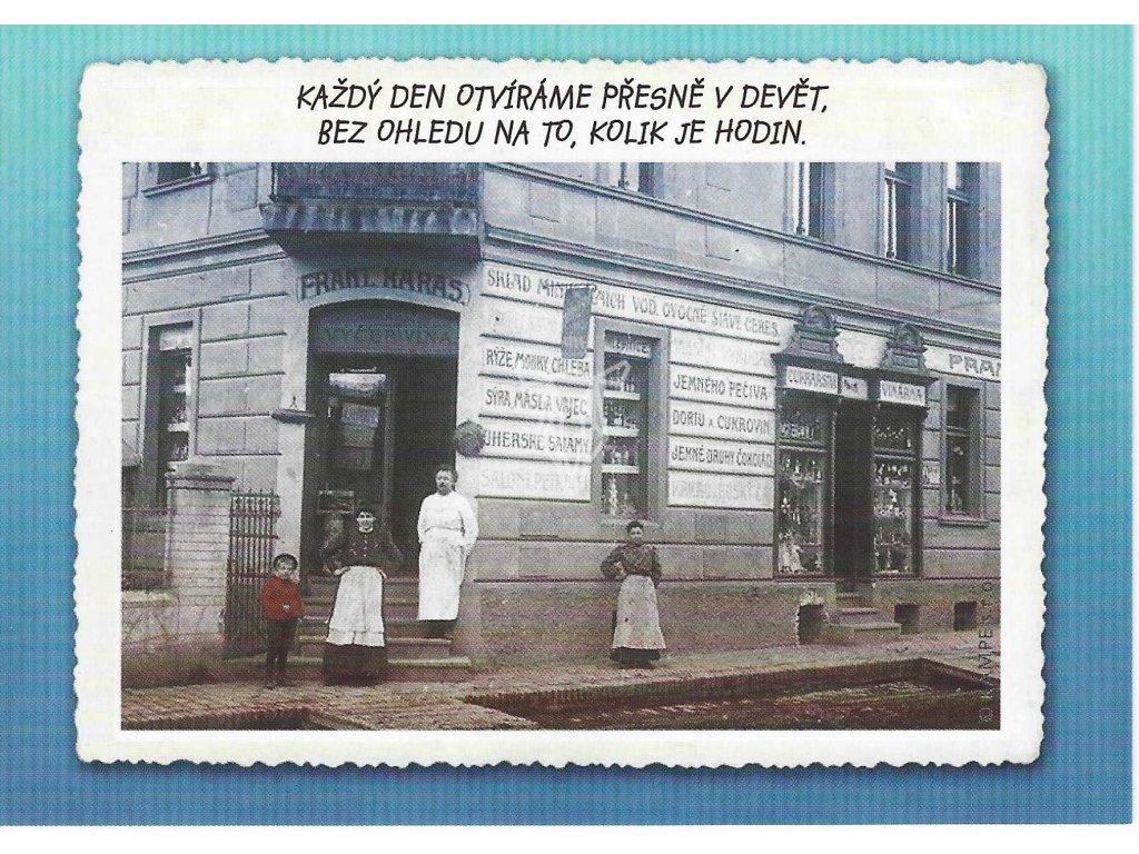 14342 2 pohlednice otevreno