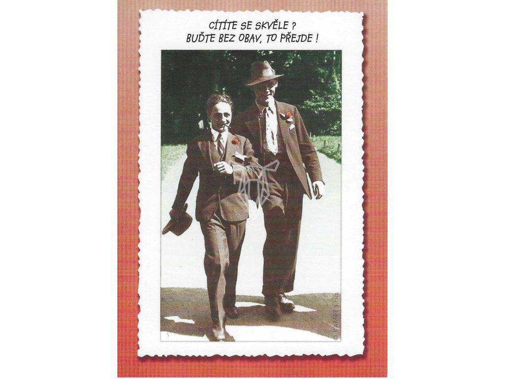14411 2 pohlednice pesimismus nebo realita