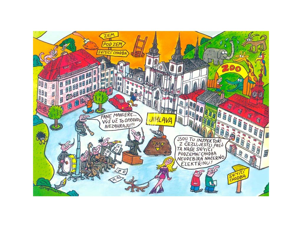 15494 3 pohlednice pidifrk jihlava