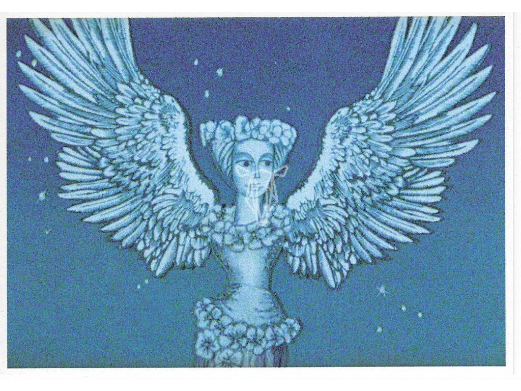 13967 2 pohlednice pohadka o honzikovi a marence 2