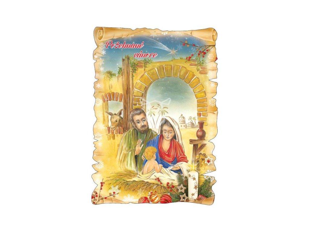 16322 pohlednice pozehnane vanoce