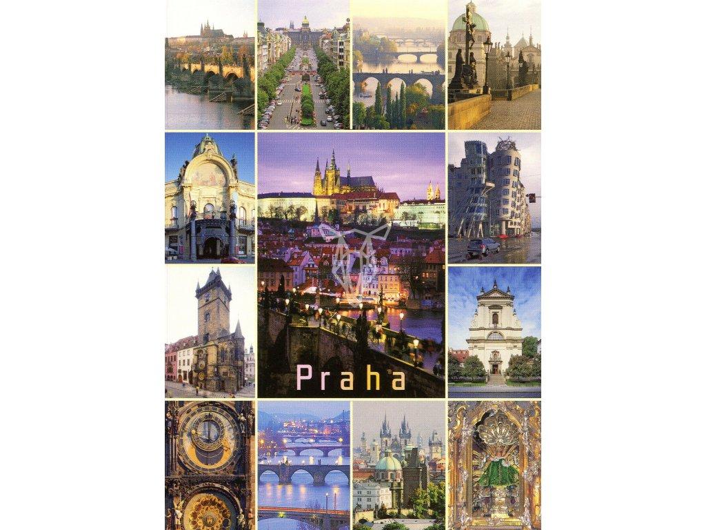 9218 2 pohlednice praha 26