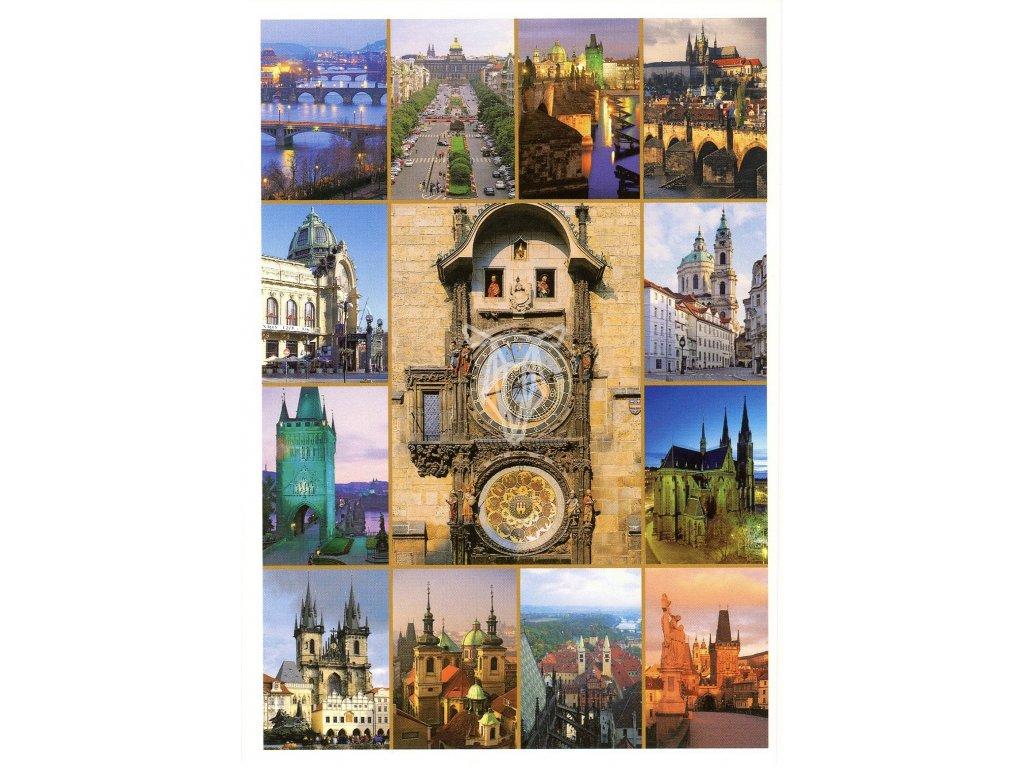 9239 2 pohlednice praha 32