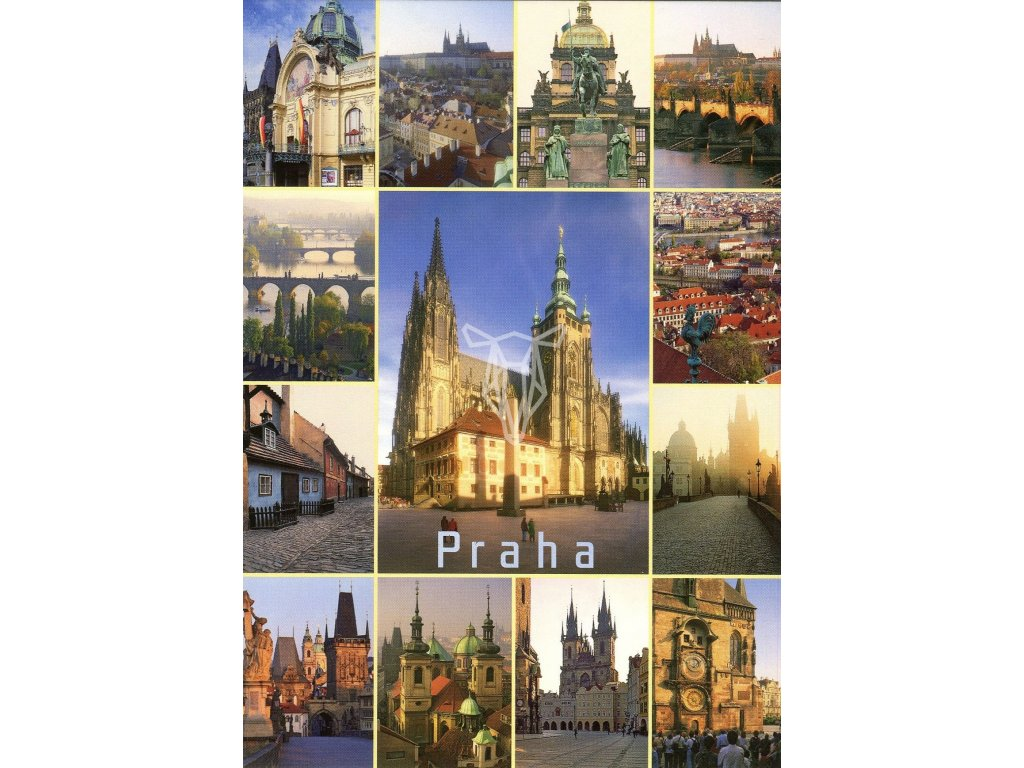 9242 2 pohlednice praha 33