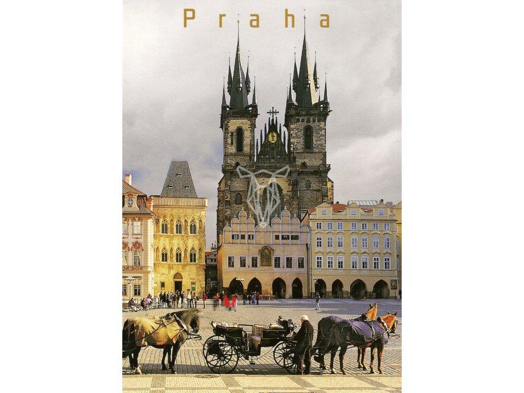 9275 2 pohlednice praha 44