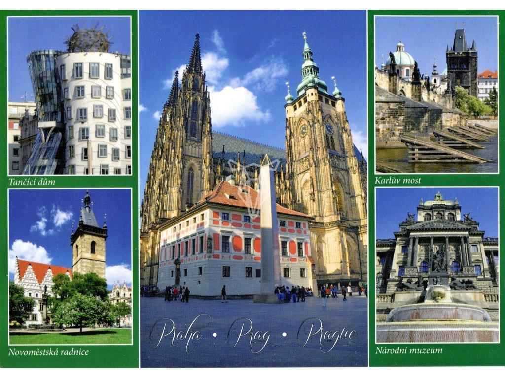 3137 2 pohlednice praha 8