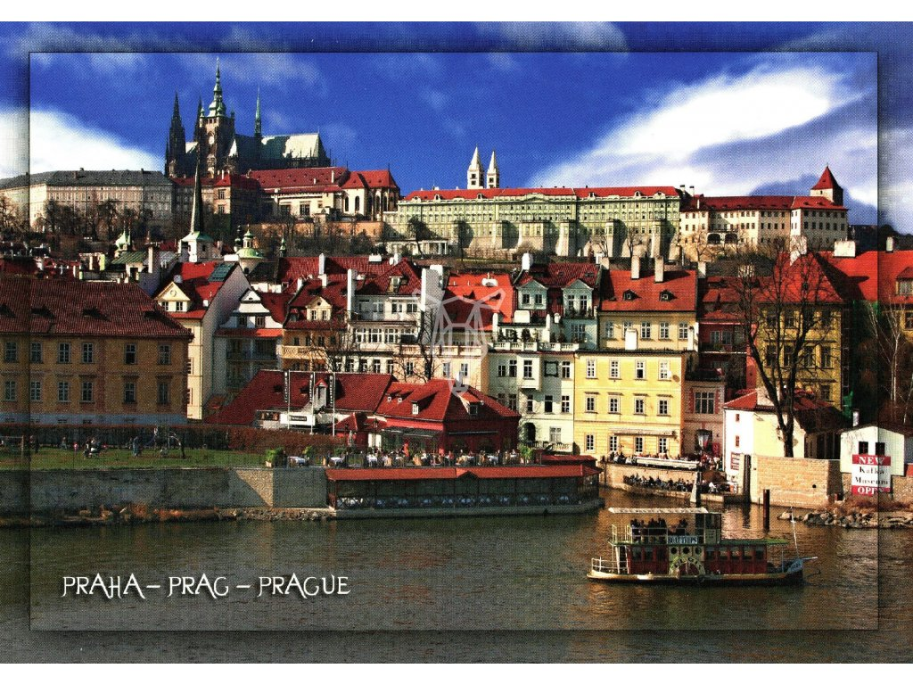 2012 2 pohlednice praha vltava