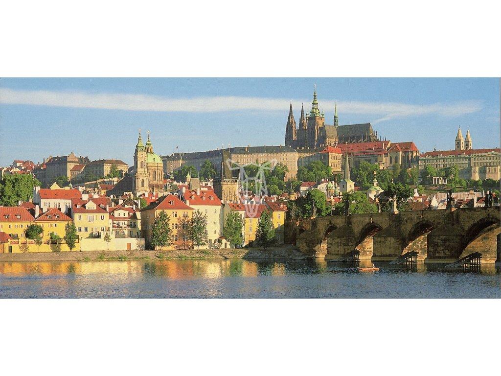 617 pohlednice prazsky hrad