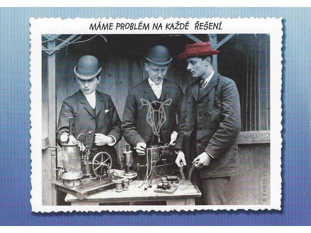 14363 2 pohlednice problem