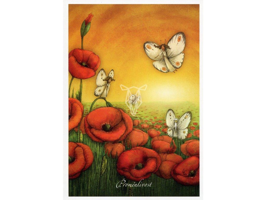 8672 2 pohlednice promenlivost