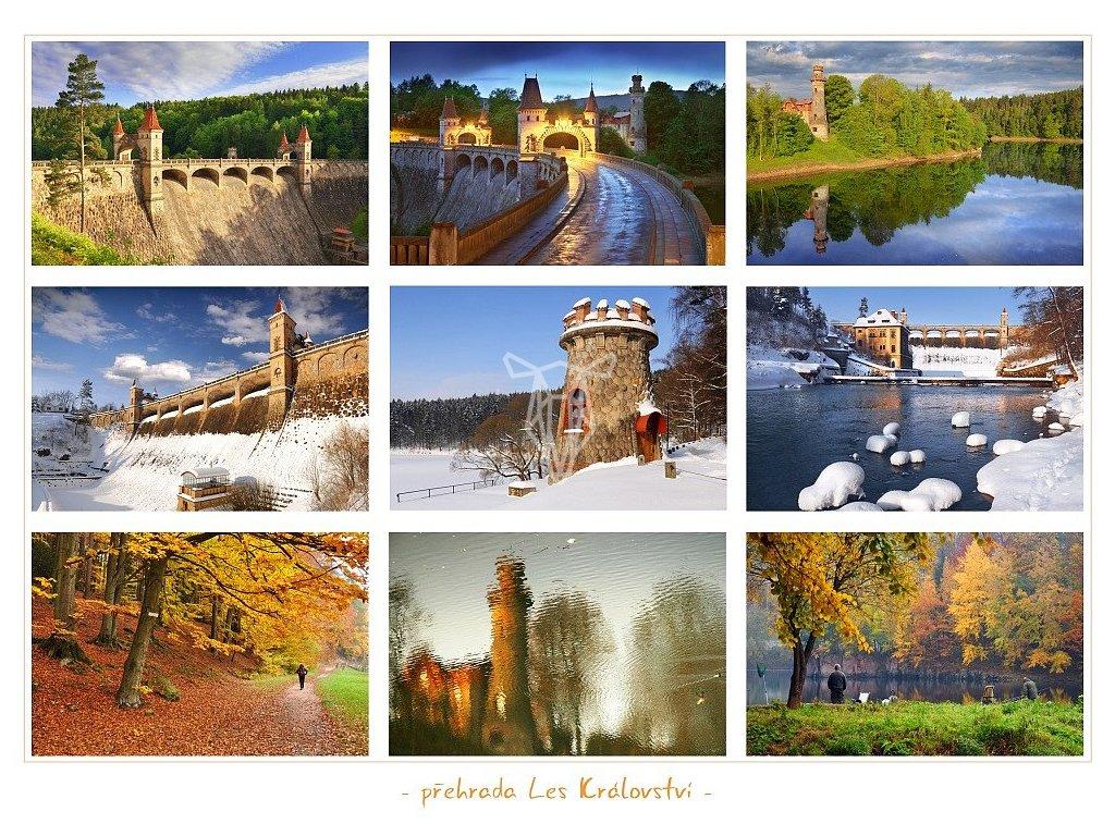 1397 pohlednice prehrada les kralovstvi