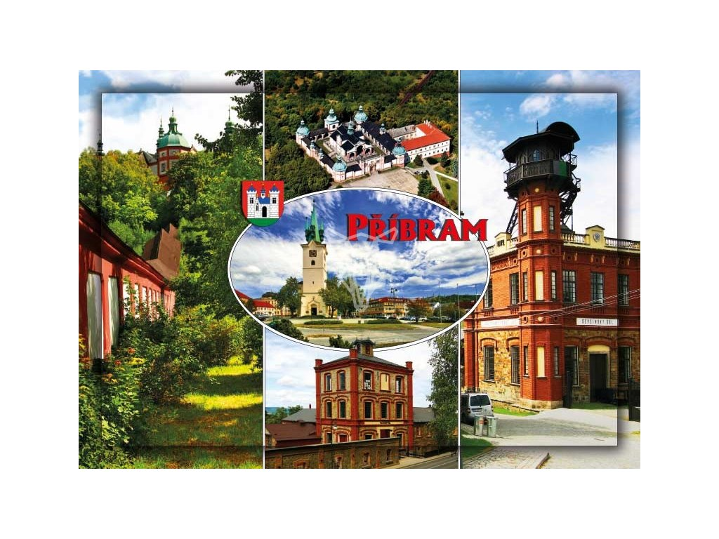 16175 pohlednice pribram