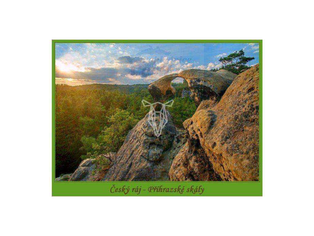 13844 3 pohlednice prihrazske skaly