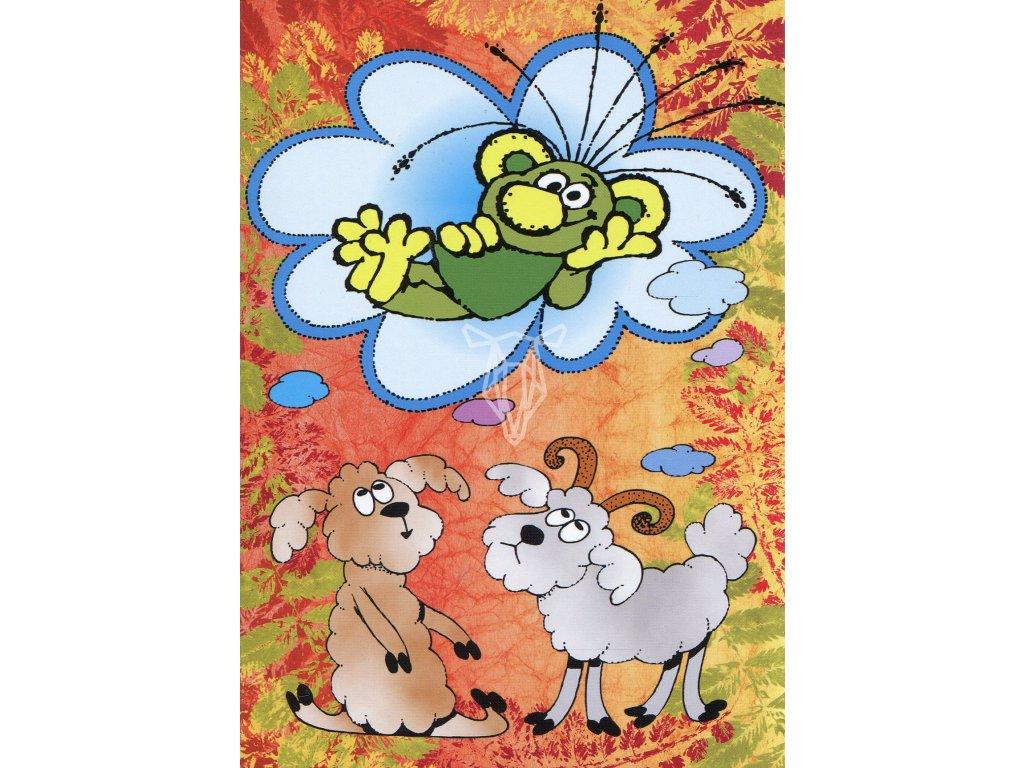 6203 2 pohlednice rakosnicek na oblacku