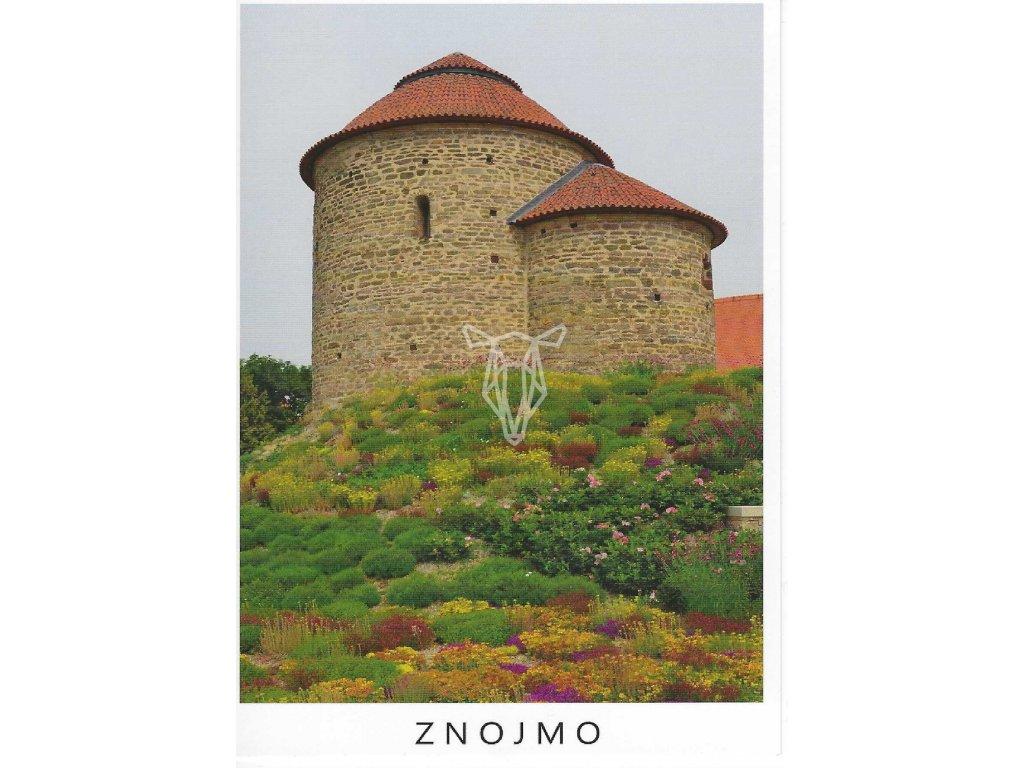 14027 pohlednice rotunda sv kateriny znojmo
