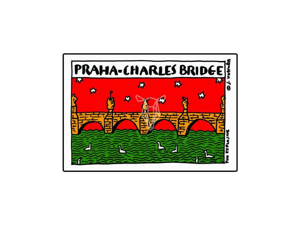16733 magnetka praha karluv most