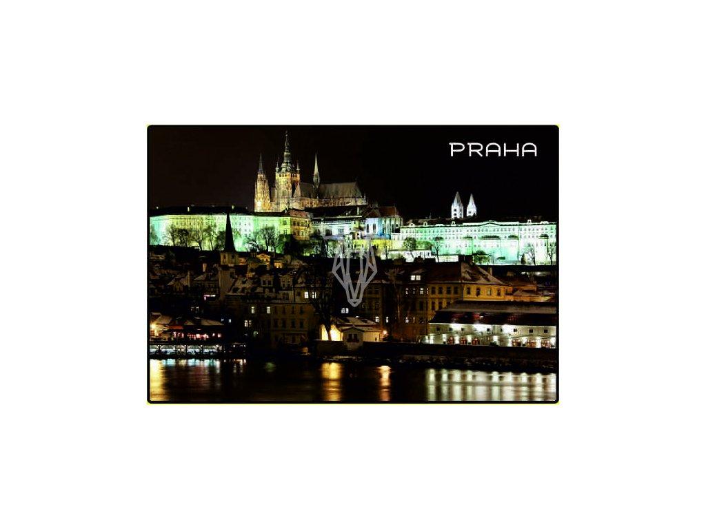 magnetka Praha Hrad