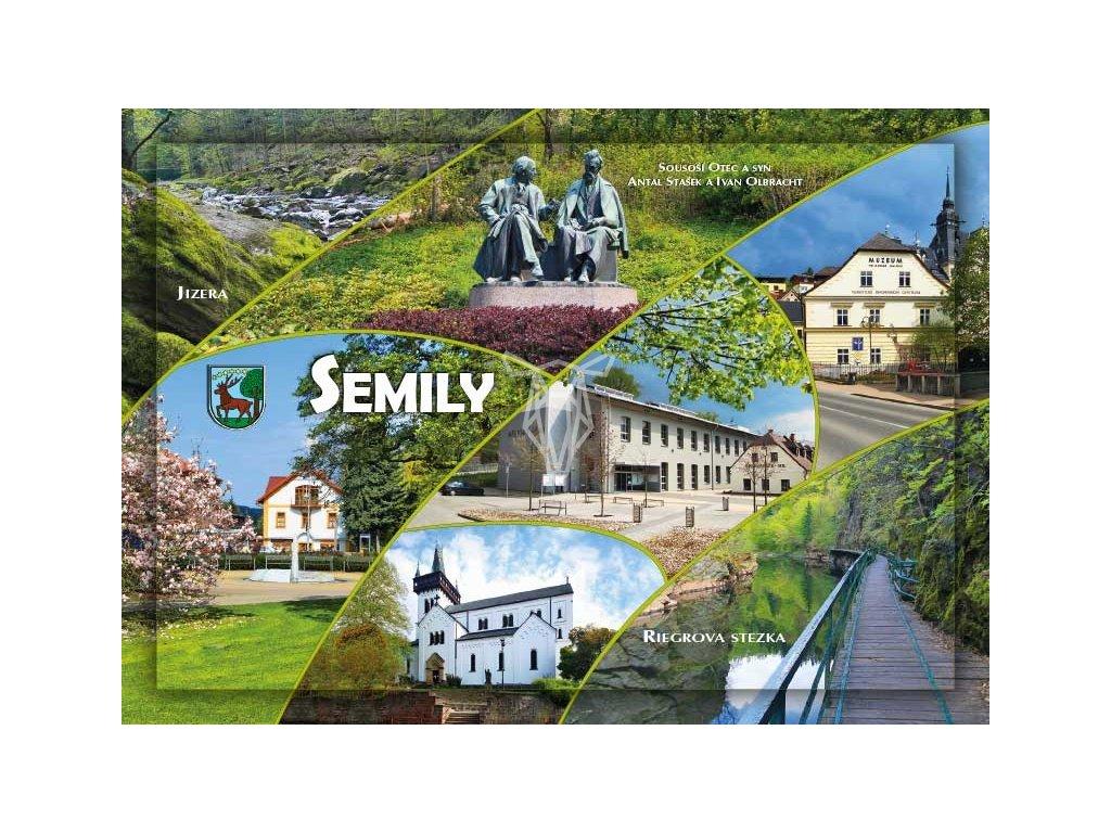 16256 pohlednice semily