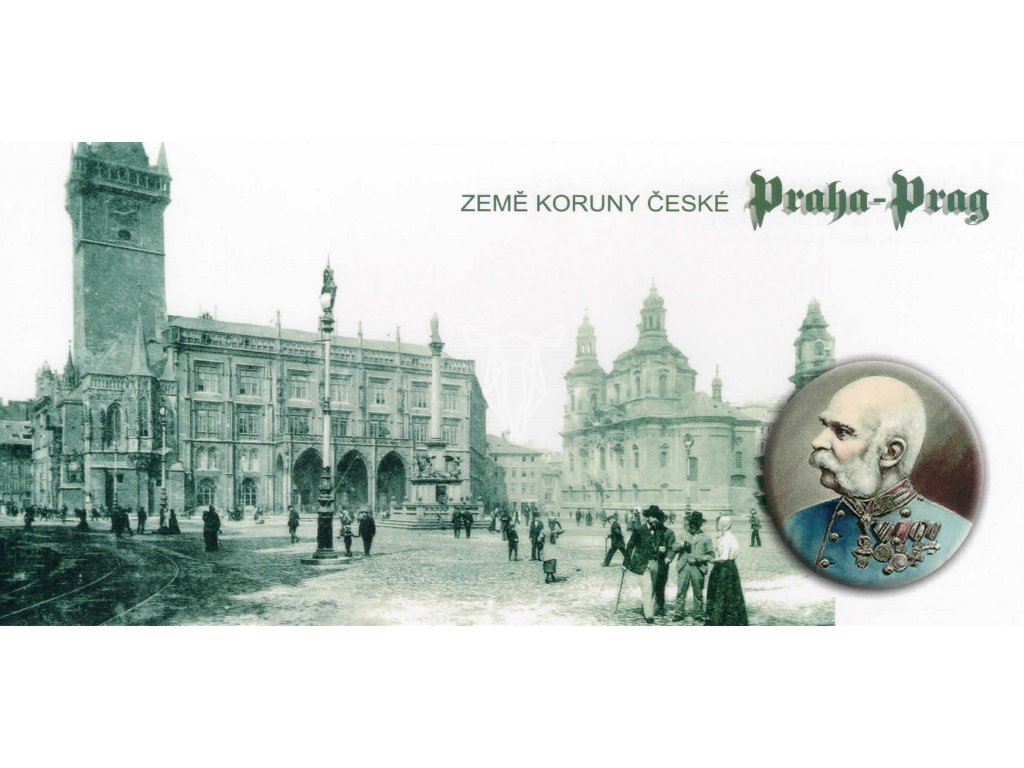1076 2 pohlednice staromestske namesti