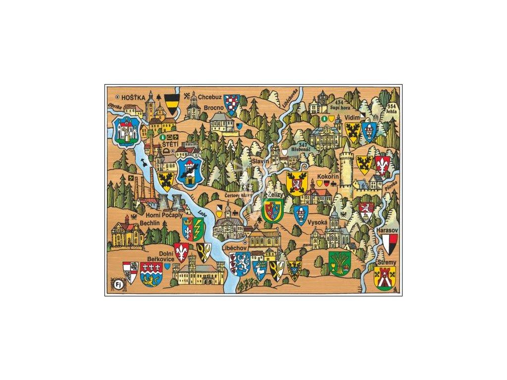 15914 3 pohlednice steti kokorin putovani krajinou s erby