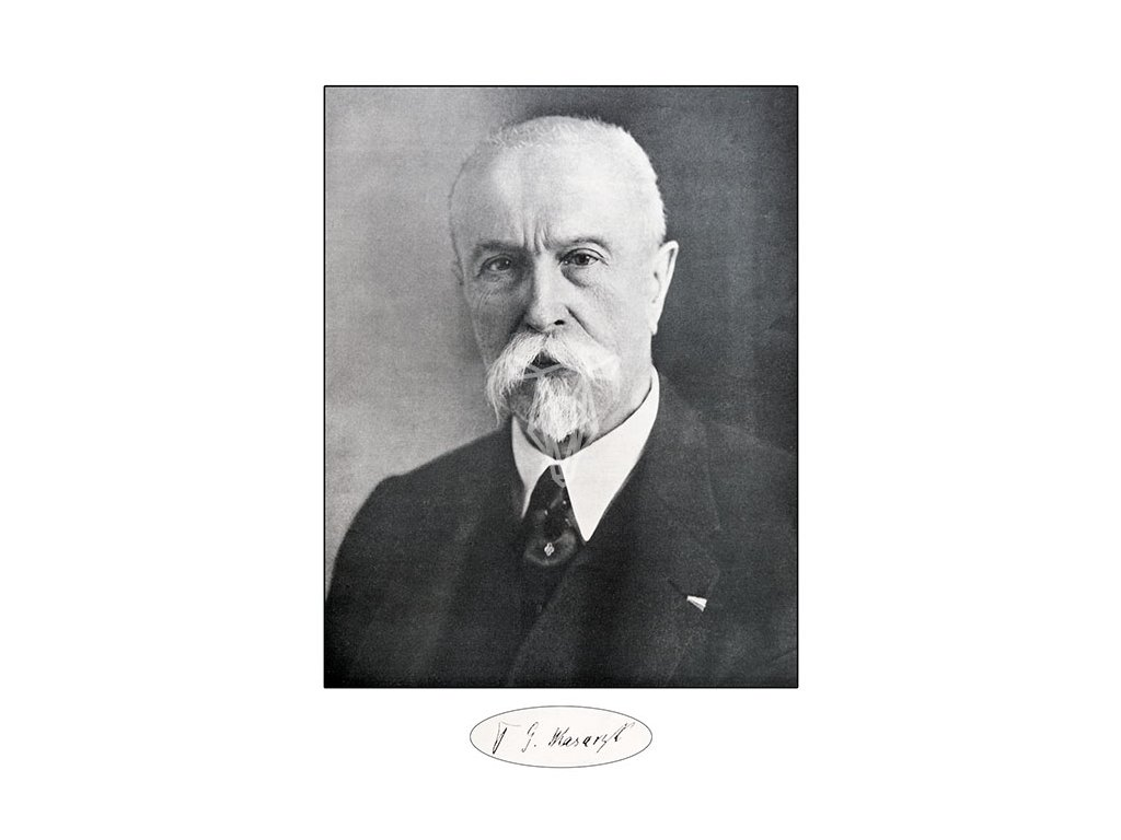 14612 3 pohlednice t g masaryk