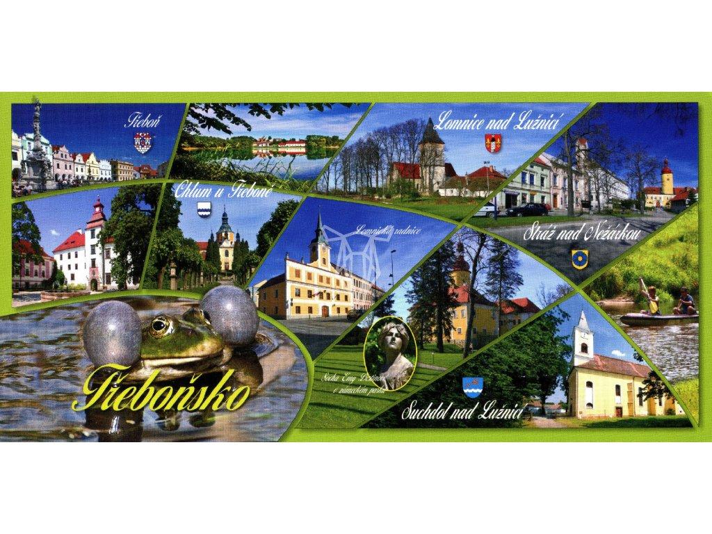95 pohlednice trebonsko