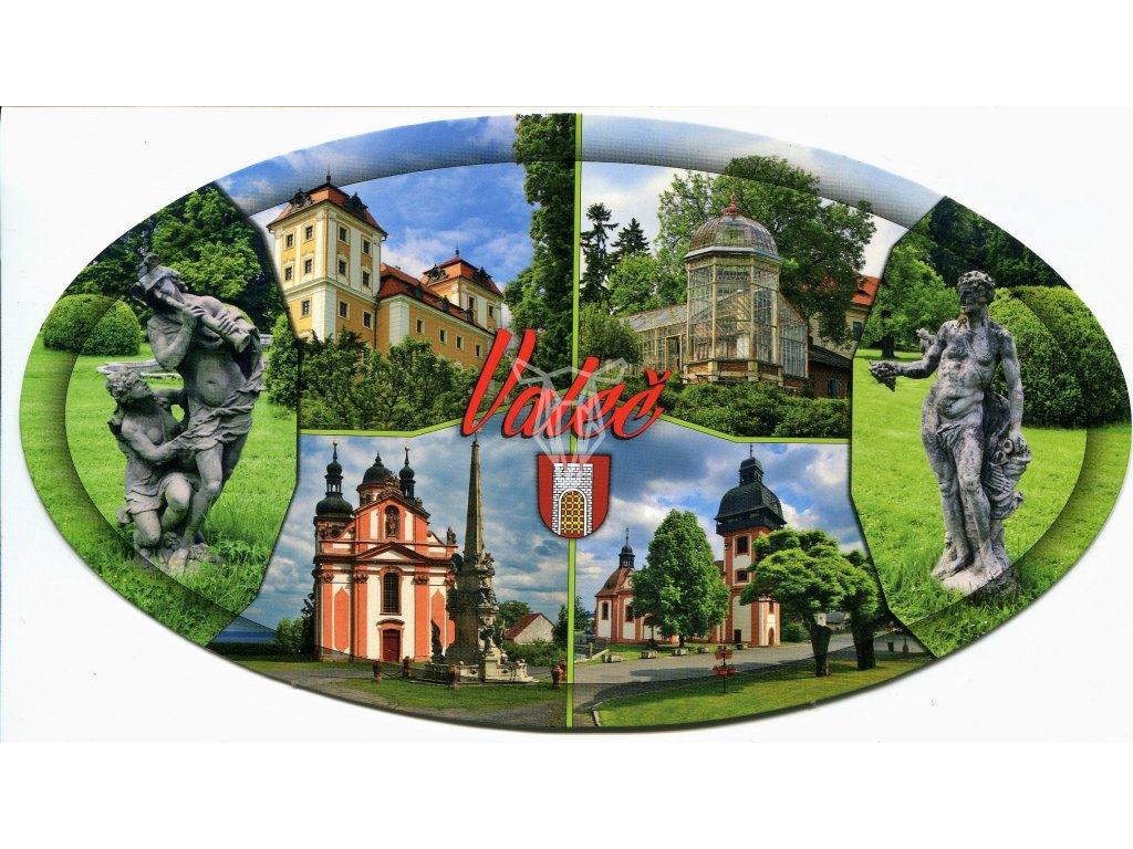 239 pohlednice valec oval
