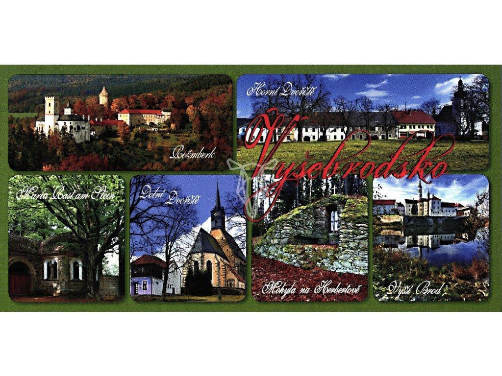 98 pohlednice vysebrodsko
