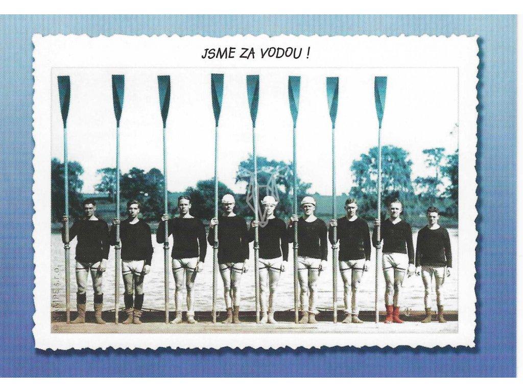 14348 2 pohlednice za vodou