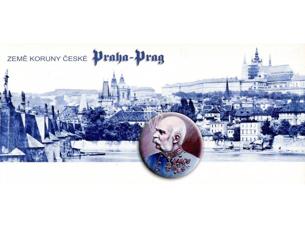 536 2 pohlednice zeme koruny ceske praha hradcany