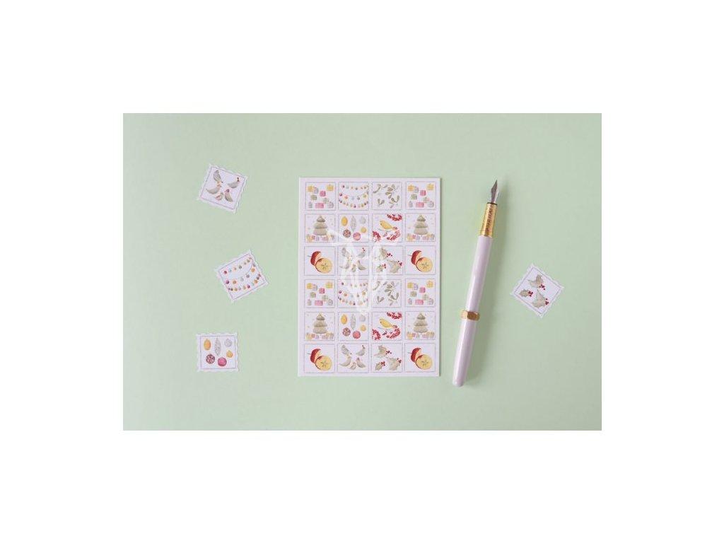 4901 1 vanoce znamky pohlednice(1)