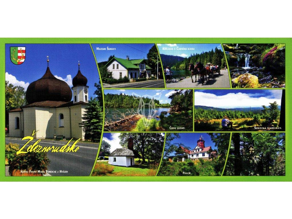 101 pohlednice zeleznorudsko