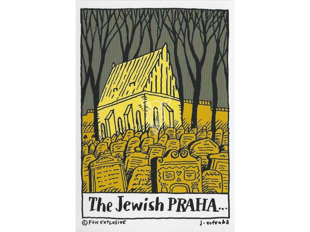 14297 3 pohlednice the jewish praha