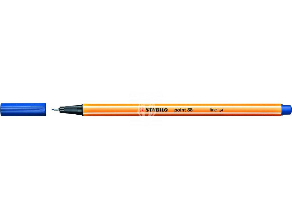 14552 1 popisovac stabilo point 88 modry liner 0 4 mm